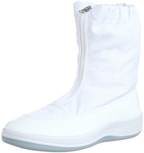 [ミドリ安全] 静電作業靴 クリーンルーム向け ブーツタイプ エレパス SU551 メンズ ホワイト 26.5