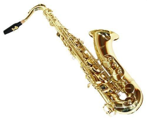 Cherrystone 4260180881639 Tenor Saxophon mit Koffer und Zubehör