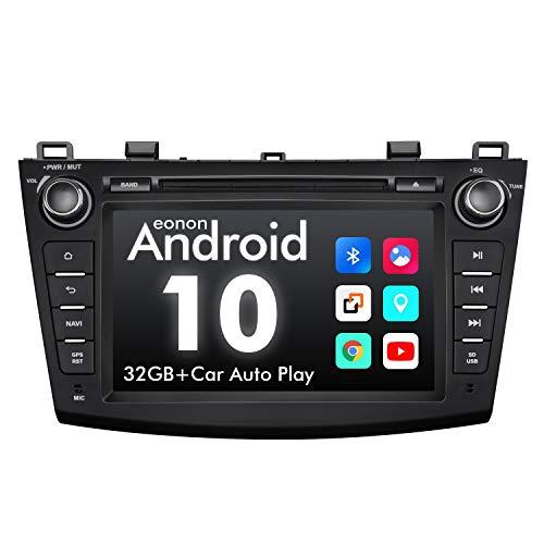 eonon GA9463 Android 10 fit Mazda 3 2010 2011 2012 2013 Quad-Core 2GB Ram 32GB ROM Indash car digital Audio Video Stereo autoradio 8