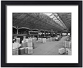 Media Storehouse Framed 20x16 Print of Goods shed, Birmingham BB64 02109 (11563113) - coolthings.us