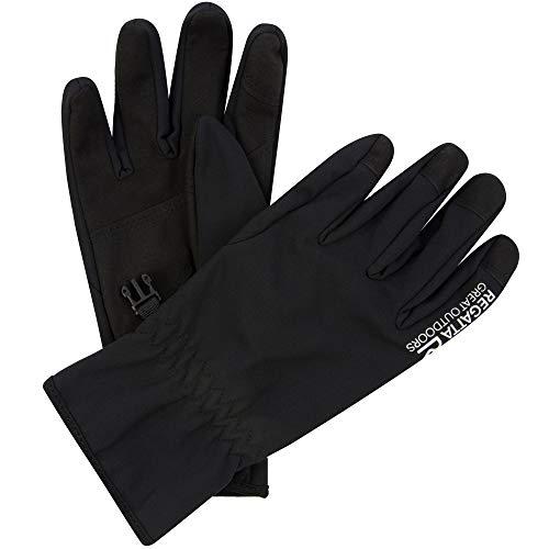Regatta Softshell' Warm Stretch Gloves Gants Homme, Noir, XL