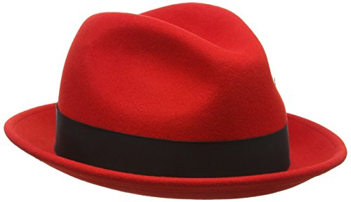 Bailey Tino Bonnet, Red, XL Homme