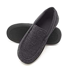 ULTIMATE COMFORT: Padded with thick memory foam, these slippers will mold to your foot giving you a custom fit for maximized comfort ODOR PROTECTION: made with Hanes Fresh IQ advance odor protection technology keeps your slippers fresh season after s...