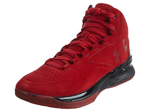 Under Armour UA Curry 1 Lux Mid SDE Herren Hi Top Basketballschuhe 1296617 Sneakers Schuhe, Rot - Rot Schwarz Rot - Größe: 43 EU
