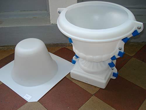 Gießform für die Herstellung von Blumenvasen Betonformen Schalungen Made in EU