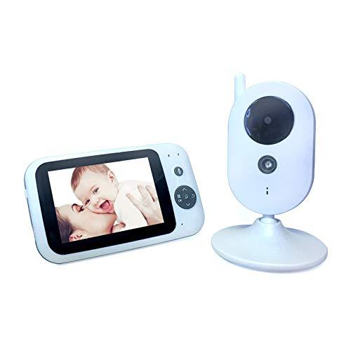 MeiDao 3,5 Zoll Kabellose Babyphone Babypflege Instrument Babyphone Kamera [Anwendbar Innen]