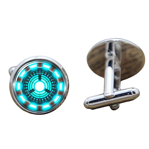 Patch Nation Iron Man Reaktor Cosplay Cufflinks Manschettenknöpfe