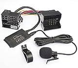 BlueMusic Adattatore Bluetooth per musica vivavoce compatibile con radio Bluetooth per BMW E39 E53 X5 Z4 E83 X3 MINI R50 R52 R53 Flat pin 40pin Quadlock nuova generazione