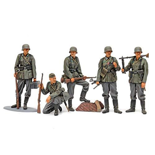 タミヤ 1/35 ミリタリーミニチュアシリーズ No.371 ドイツ歩兵セット 大戦中期 プラモデル 35371