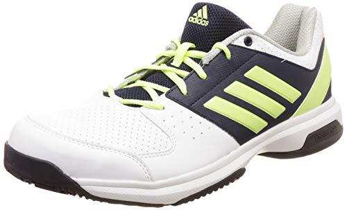 Adidas Men's HASE Ftwwht/Hireye/Conavy/Silv Tennis Shoes-10 UK (44 2/3 EU) (10.5 US)...