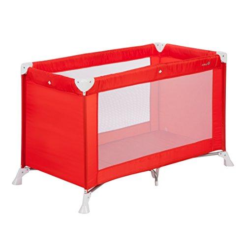 Safety 1st Soft Dreams Lit Parapluie Bébé De Voyage, Pratique et Compact Red