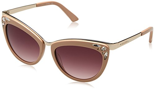 Swarovski Sonnenbrille SK0102 5672F Gafas de sol, Beige, 56 para Mujer