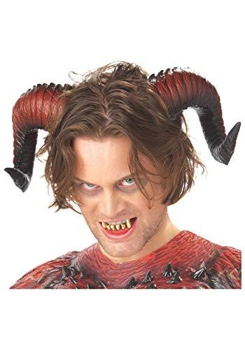 California Costumes Devil Horns and Teeth Standard