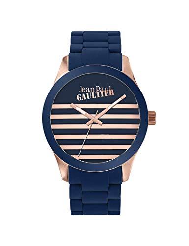 Reloj Jean-Paul Gaultier de silicona unisex H/F azul
