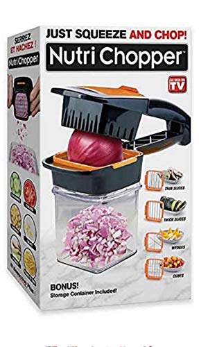 NutriChopper with Fresh-keeping container - Multi-purpose Food Chopper As Seen On TV