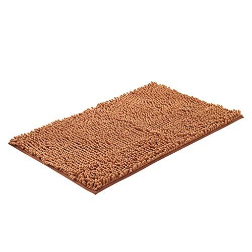 Buy Fluffy Rug Living Room Bedroom Bathroom Door mat Kitchen Non-Slip Microfiber Absorbent Floor mat...