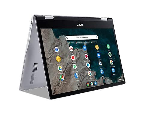 Acer ChromeBook Spin 513 CP513-1H-S98J - Ordenador portátil 7C eMMC 64GB + RAM 8GB Silver
