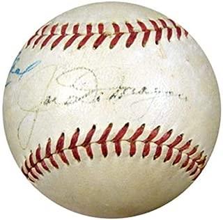 Joe DiMaggio Signed Baseball - 1940's AL Harridge #K39915 - PSA/DNA Certified - Autographed Baseballs