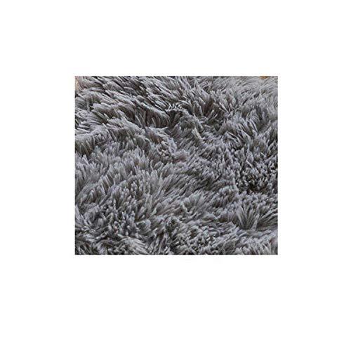 Big Incisors Für Boden Große Schneidezähne 9Pcs DIY Puzzle Matte Schaum Villus Shaggy Teppich Playmat Plüsch Warm Soft Area Teppich Kinder Baby Spielmatte 30x30CM-Grey-