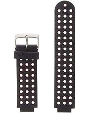 Garmin - Bracelet de Rechange pour Montres Forerunner 220 - Noir/Rouge