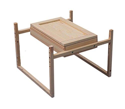 Massivholz Familie mit Körperpflege Moxibustion Box Moxibustion Moxibustion Bett Rücken Bauch Moxibustion Box , 3