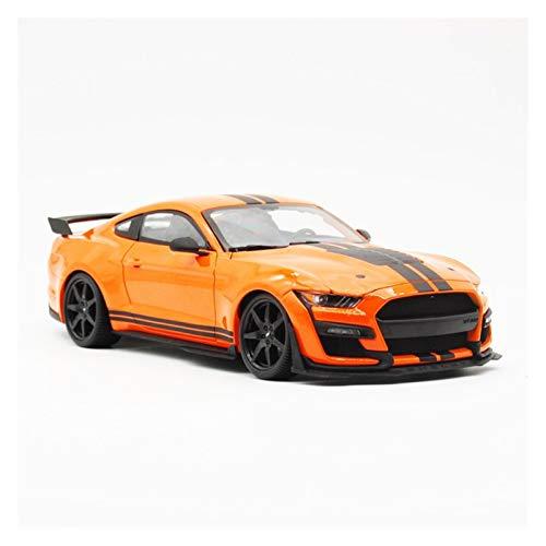 DGHF 1:18 2020 para MUSTANG para SHELBY GT500 metal vehículo fundido a troquel tirar atrás coches modelo de juguete colección hombres niños regalo