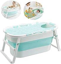 Volwassen Folding Badkuip Opvouwbare baby Tub Portable Badkuip Huishoudelijke Plastic Hot Tub Non-Slip Insulation met Cove...