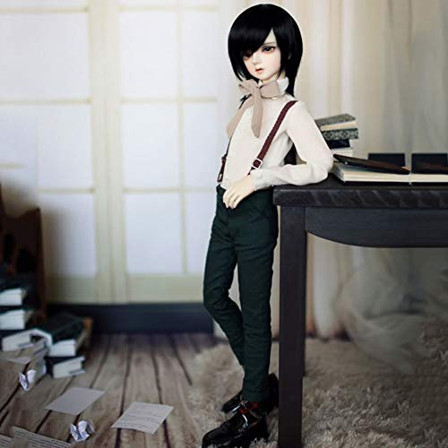 Male Handsome Boy BJD Doll 12 Ball Jointed 1/4 SD Dolls with BJD Clothes Wigs Shoes Makeup DIY Handmade Toys