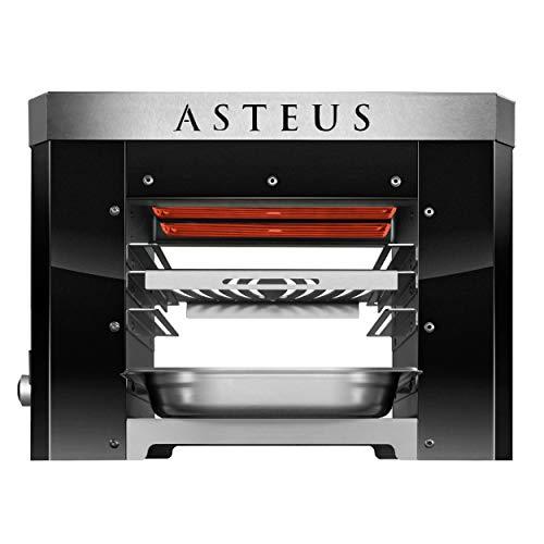 Asteus AST818BlackEdition ASTEUS Steaker Black Edition Elektro-Infrarotgrill