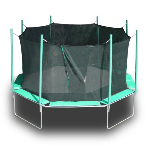 Kidwise Octagon Trampoline with Safety Cage
