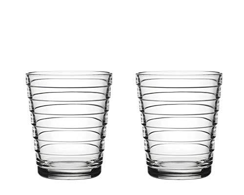 Iittala Aino Aalto - Glas - 22 cl - Klar - 2 stück