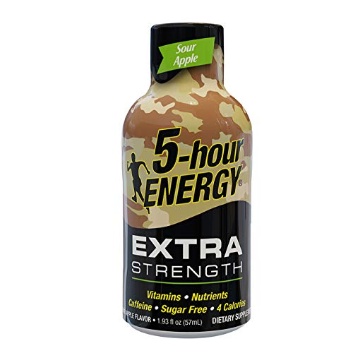 5-hour ENERGY® Shot, Extra Strength, Sour Apple, 1.93 oz.