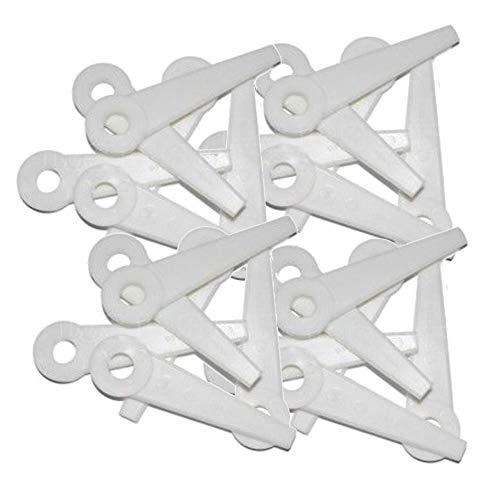 RocwooD Lot de 24 lames en nylon pour débroussailleuse Stihl Polycut 6-3, 20-3, 10-3, 41-3.