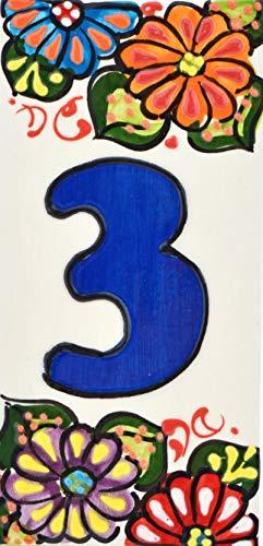 ART ESCUDELLERS Números casa. Numeros Letras azulejo
