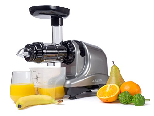 ENTSAFTER JUICEME DA1000 KALT-PRESS Slow Juicer (Silber)