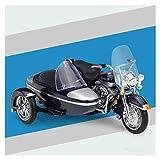 LJHLJH 1/18 Harley Triciclo de la Motocicleta Presofundido Colección del Modelo...