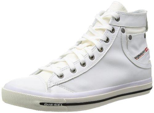 Diesel Herren MAGNETE EXPOSURE I-sneaker High-Top, Weiß (T1003), 44 EU