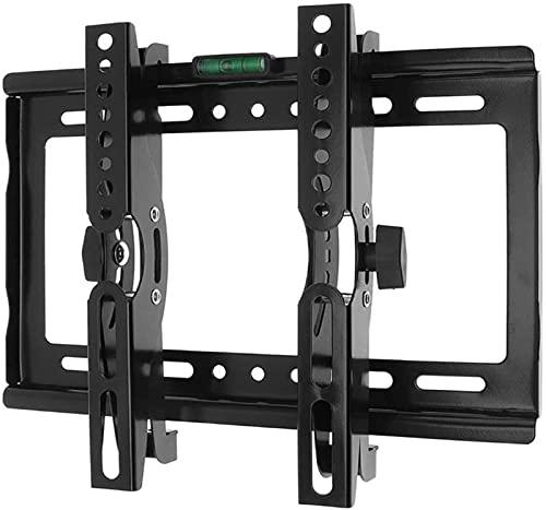 GWDFSU Soporte de Pared para TV para la mayoría de televisores curvos Planos de Plasma LED de 14-32 Pulgadas Soporte de Pared inclinable para TV con máx.200x200mm máximo hasta 25 kg