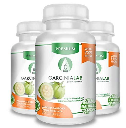 Garcinia Cambogia 3 Pack 95% HCA 90 Capsules Total Supplement