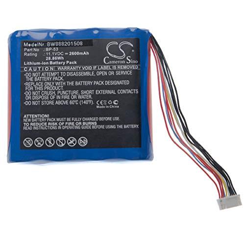 vhbw Batería reemplaza Nissin BP-53 para herramientas eléctricas (2600mAh Li-Ion 11,1V)