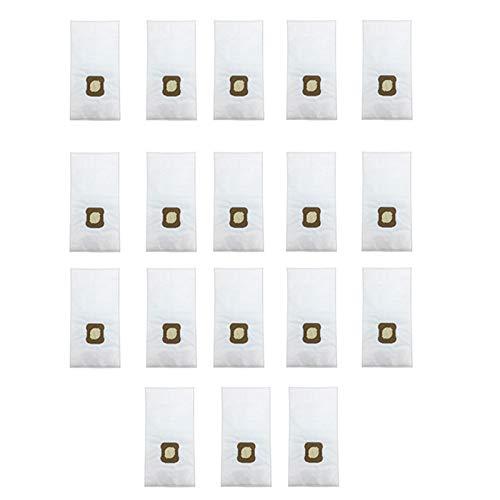PUHE Staubsauger-Ersatzteile, 18 Staubsaugerbeutel passend für Kirby G7E, G10, G10E, G5, G6, KY10, MK2, MK3 Staubsauger-Zubehör (Farbe: Weiß).