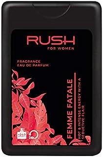 RUSH For Women - Femme Fatale - Eau De Parfum - Pocket Perfume - 75% Alcohol - For Women - 16 Ml