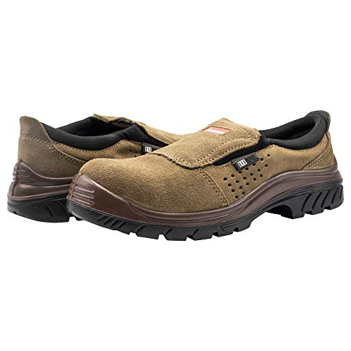 Bellota 72227-41 Zapato sin Cordones Nonmetal S1P, Talla 41, Marrón