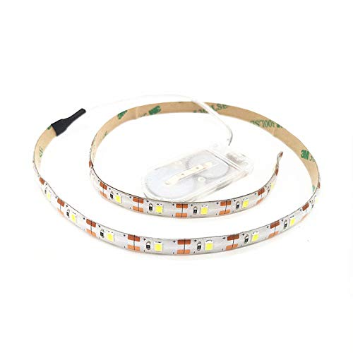 LED String Light Battery Powered 2 Pack,1.64ft Waterproof LED Fairy Lights Battery Operated;Rope Lights for DIY Wedding Christmas Holiday,Home Party Decor (Cool White)