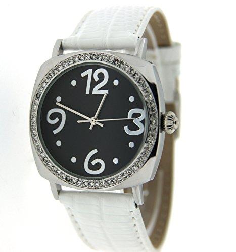 Pierre Chaubert Damen-Armbanduhr Analog Quarz Verschiedene Materialien 8119