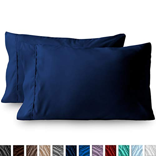 Bare Home Premium 1800 Ultra-Soft Microfiber Pillowcase Set - Double Brushed - Hypoallergenic -...