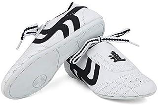 Dilwe Taekwondo Shoes, Kung Fu Taekwondo Indoor Mat Training Shoes 10 Sizes Soft Rubber Soles Martial Arts Sneaker for Wom...