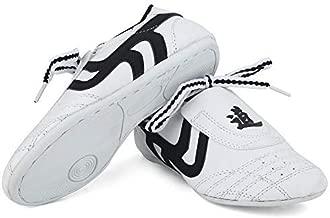Dilwe Taekwondo Shoes, Kung Fu Taekwondo Indoor Mat Training Shoes 10 Sizes Soft Rubber Soles Martial Arts Sneaker for Women Men Kong Fu Taichi (36)