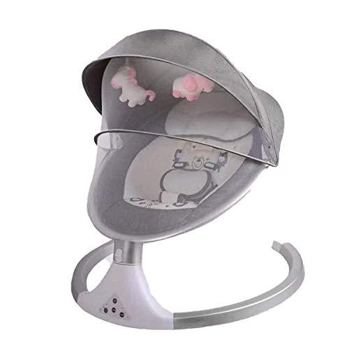 Silla Mecedora de bebé eléctrica, rockero eléctrico Plegable portátil para bebés, Pliegue Compacto Cama recién Nacida, bebés recién Nacidos Desde 024 Meses (Color: 3) nyfcck