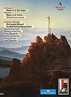 モーツァルト&シューベルト : ミサ曲集 (Schubert : Mass in E flat major | Mozart : Mass in C minor Waisenhausmesse / Claudio Abbado , Orchestra Mozart , Arnold Schoenberg Choir) [2DVD] [輸入盤]